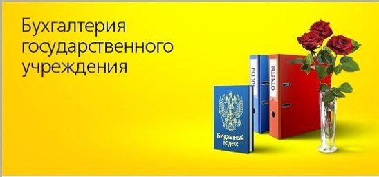 Бухгалтерия государственного учреждения
